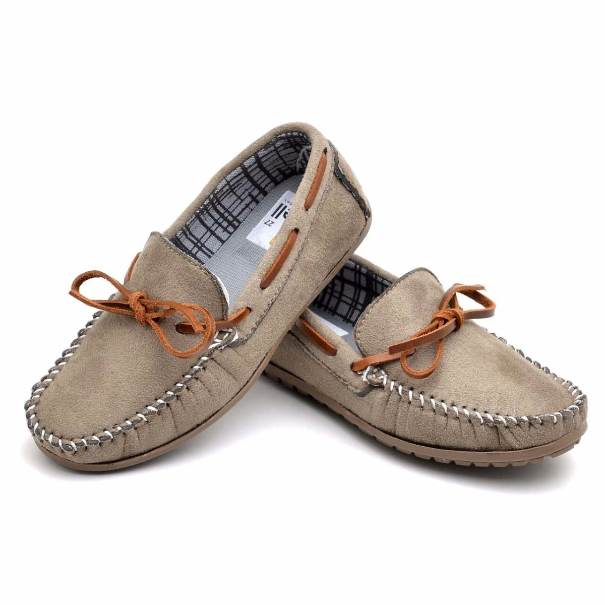 a4effb94f4 sapato mocassim masculino infantil camurça conforte kids. Carregando zoom.