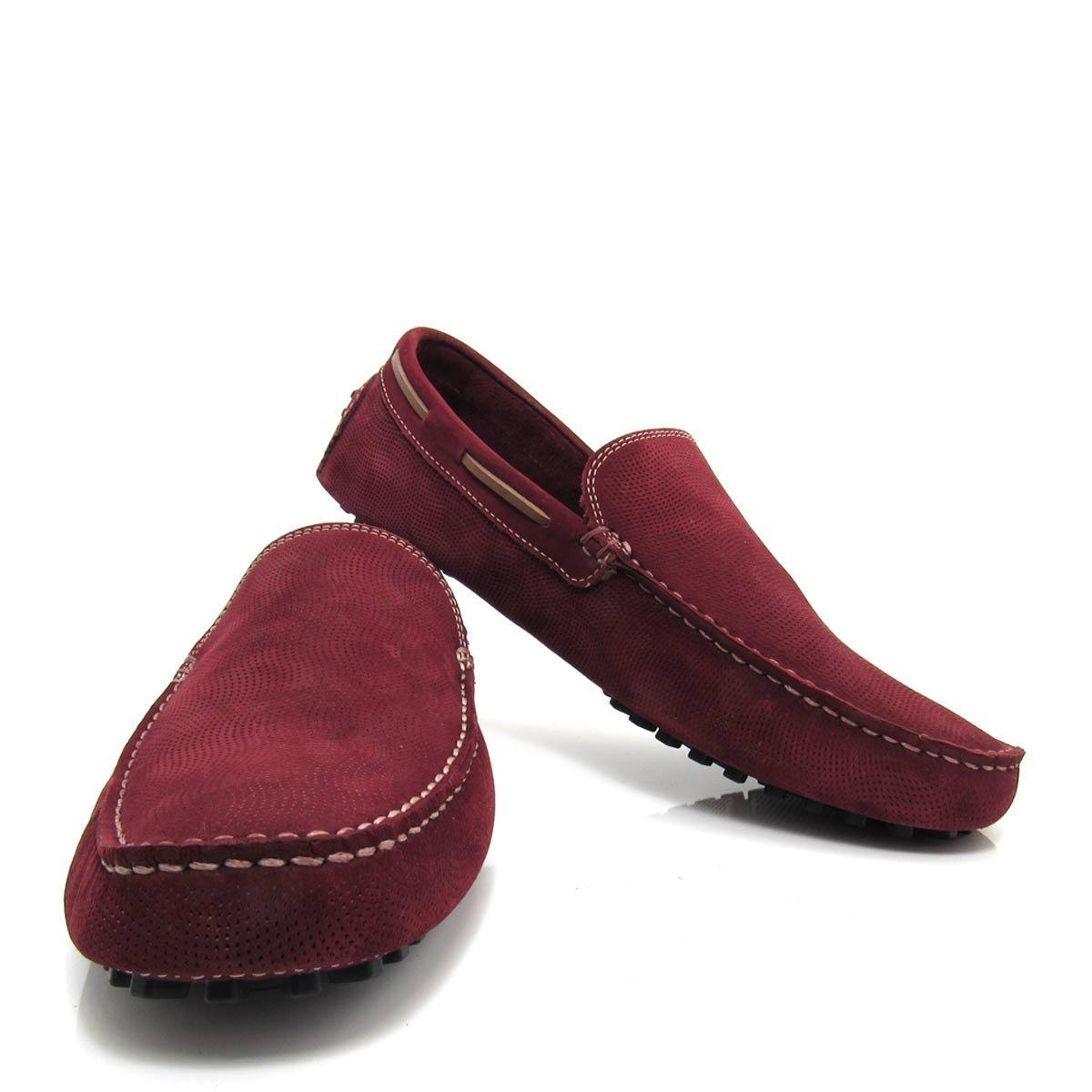 79f2471034 Sapato Mocassim Masculino Jovaceli Em Couro 6310 - R$ 59,00 em ...