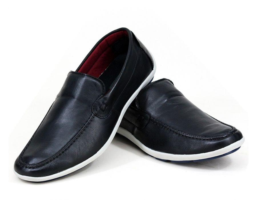 e4e4a0e026 sapato mocassim masculino sapatênis casual couro legítimo. Carregando zoom.