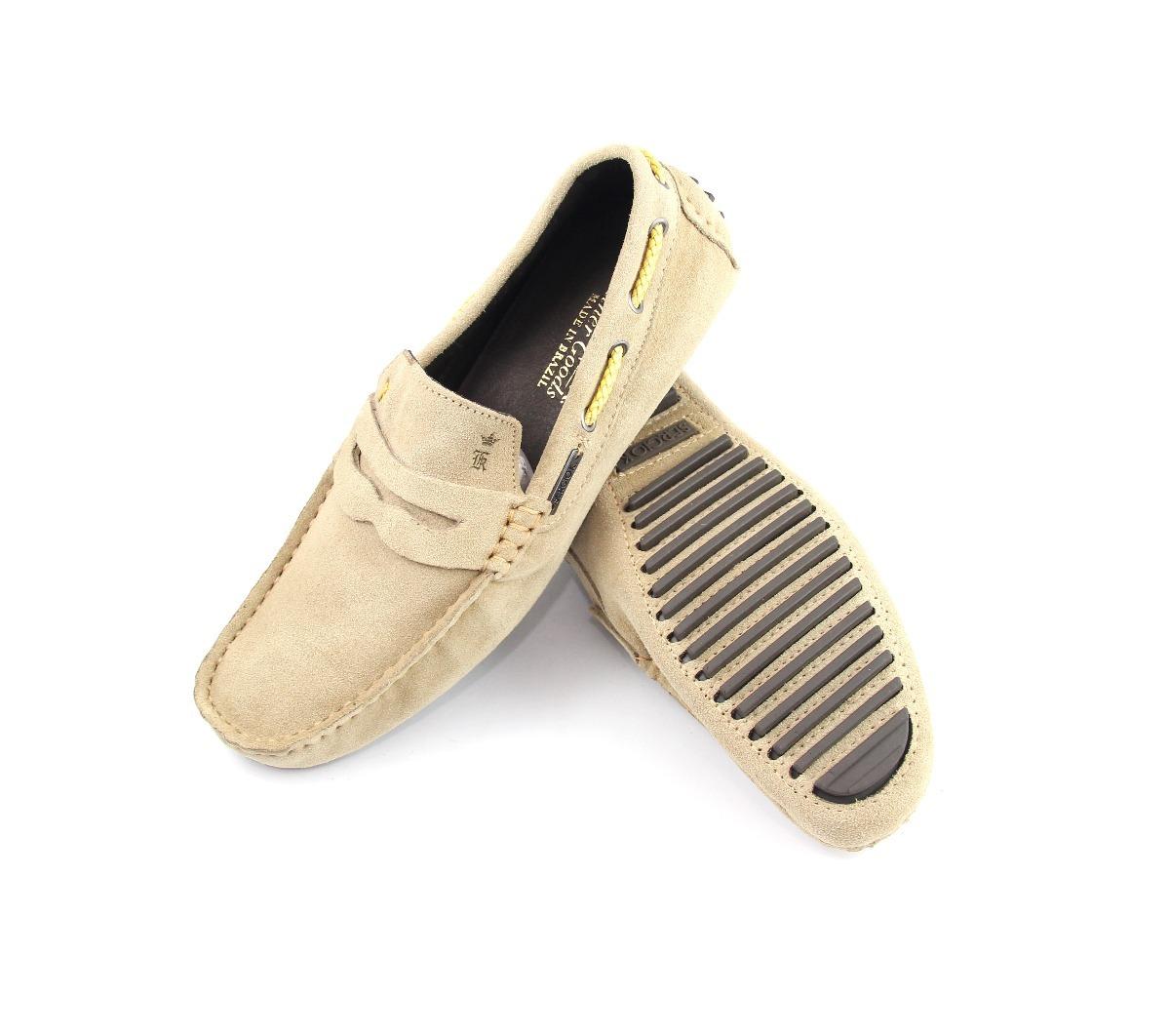 98004e443f sapato mocassim masculino sergio k original bege de couro. Carregando zoom.