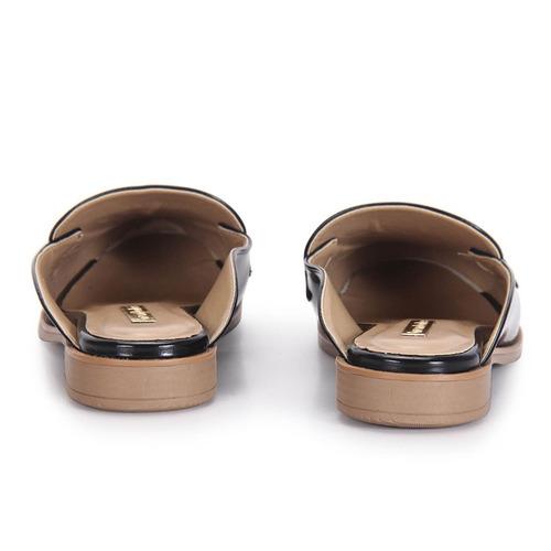 0daa42f2e Sapato Mocassim Mule Feminino Brenda Lee - Preto - R$ 49,99 em ...