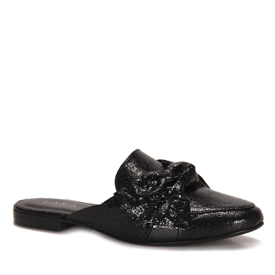 f52d2cd31d sapato mocassim mule feminino lara - preto. Carregando zoom.