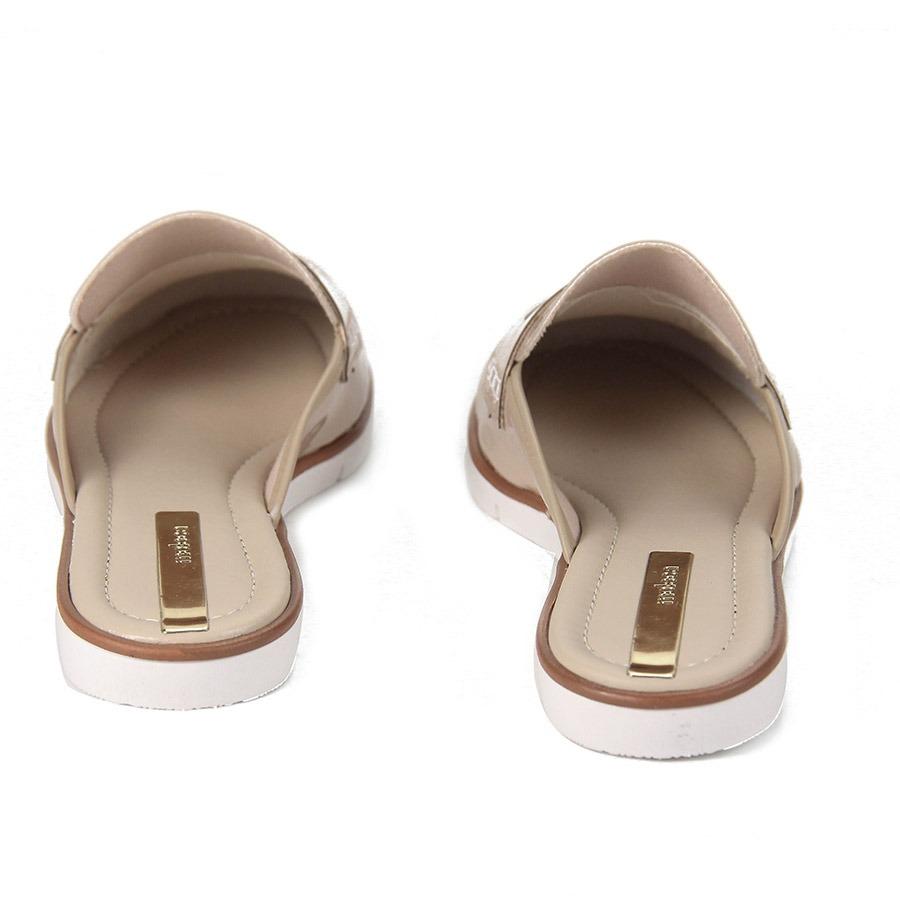 85c422e3a Sapato Mocassim Mule Feminino Moleca - Nude - R$ 39,99 em Mercado Livre