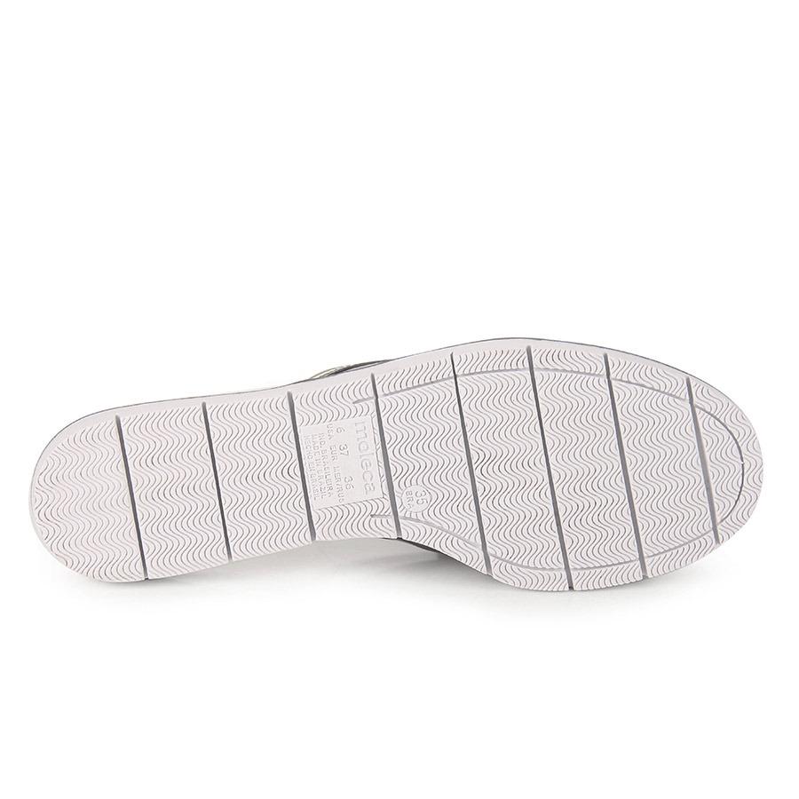 7b672852ef sapato mocassim mule feminino moleca - prata velho. Carregando zoom.