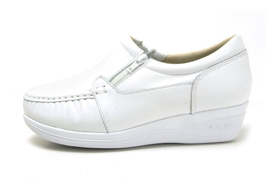 03faaf363c Sapato Mocassim Ortopédico Anti Stress Amanda Flex - R$ 129,90 em ...