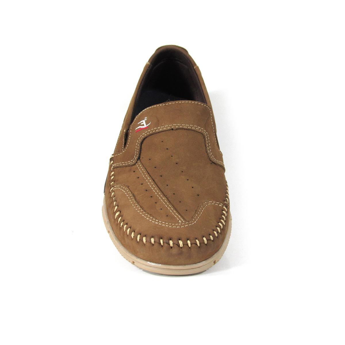 2ca5a3d1b4 sapato mocassim sider sapatilha masculino camurça marrom. Carregando zoom.