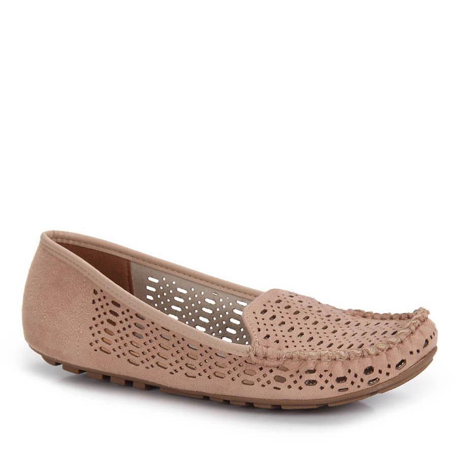 cd178d4e0bb Sapato Mocassim Vizzano Vazado - Nude - R$ 89,99 em Mercado Livre