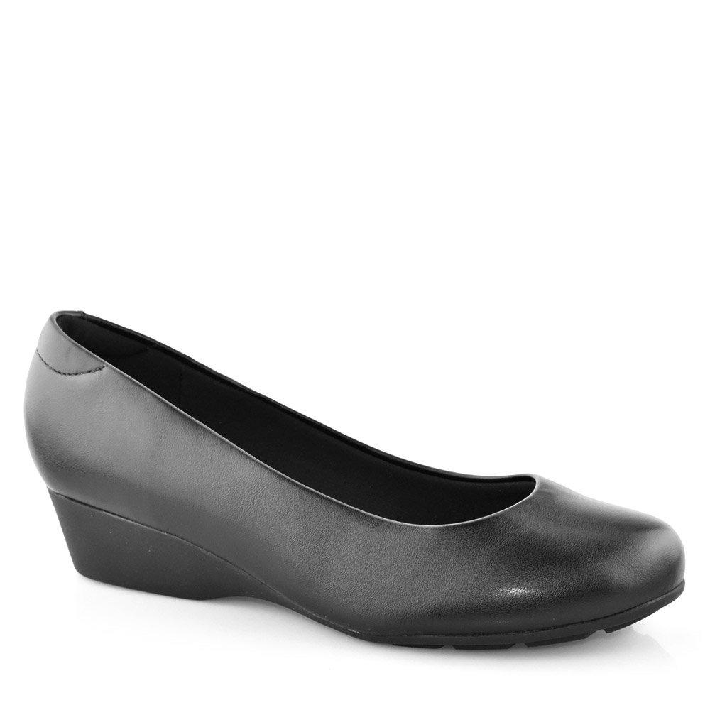 40824f6183 sapato modare salto anabela baixo linha conforto 7014200. Carregando zoom.