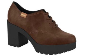 985bc2aadd Vintage Sapato Oxford Feminino Outros Tipos - Sapatos para Feminino  Marrom-escuro com o Melhores Preços no Mercado Livre Brasil