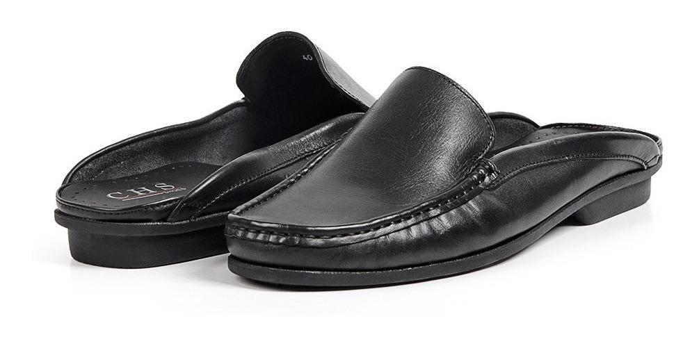 c376531ed3 sapato mule babuche masculino em couro paquetá chs 1000. Carregando zoom.