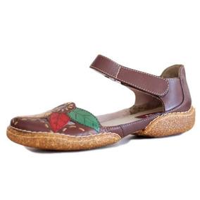 507895c312 Sapato Boneca Em Couro Estilo Retrô Modelo Exclusivo - Sapatos no ...