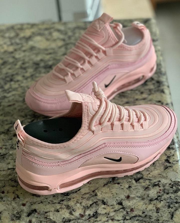 air max 97 feminino rosa e preto