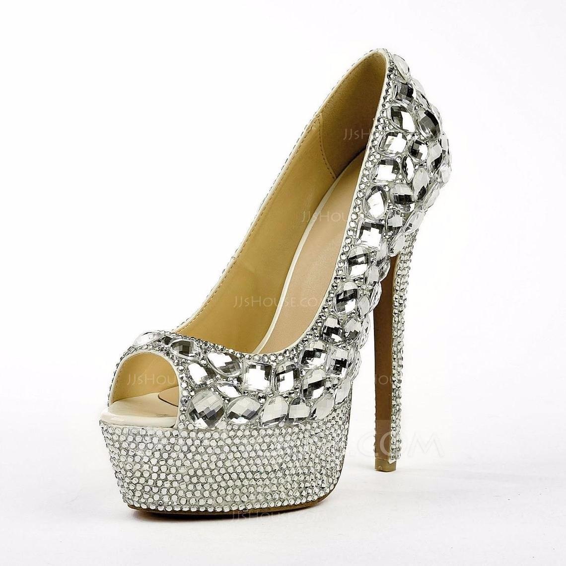 99d1d5726de sapato noiva debutante festa strass prata. Carregando zoom.