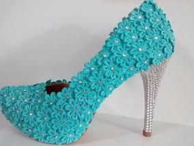 aa221259c Sapatos Meia Pata Debutante - Sapatos com o Melhores Preços no Mercado  Livre Brasil