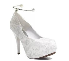 b5f54504e Sapato Para Noiva Vizzano - Sapatos com o Melhores Preços no Mercado Livre  Brasil
