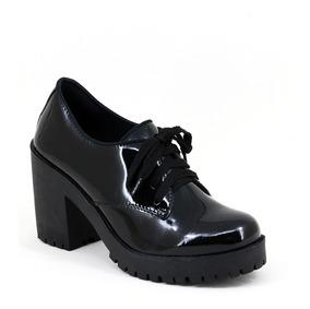 fa34c60c7 Oxford Salto Alto - Sapatos com o Melhores Preços no Mercado Livre Brasil