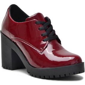 7b6cb5036 Sapato Oxford Feminino Tratorado - Sapatos no Mercado Livre Brasil