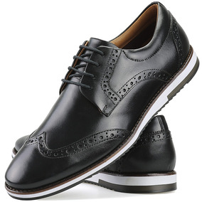 6c00a13f39 Sapato Brogue Masculino Camurça - Sapatos no Mercado Livre Brasil