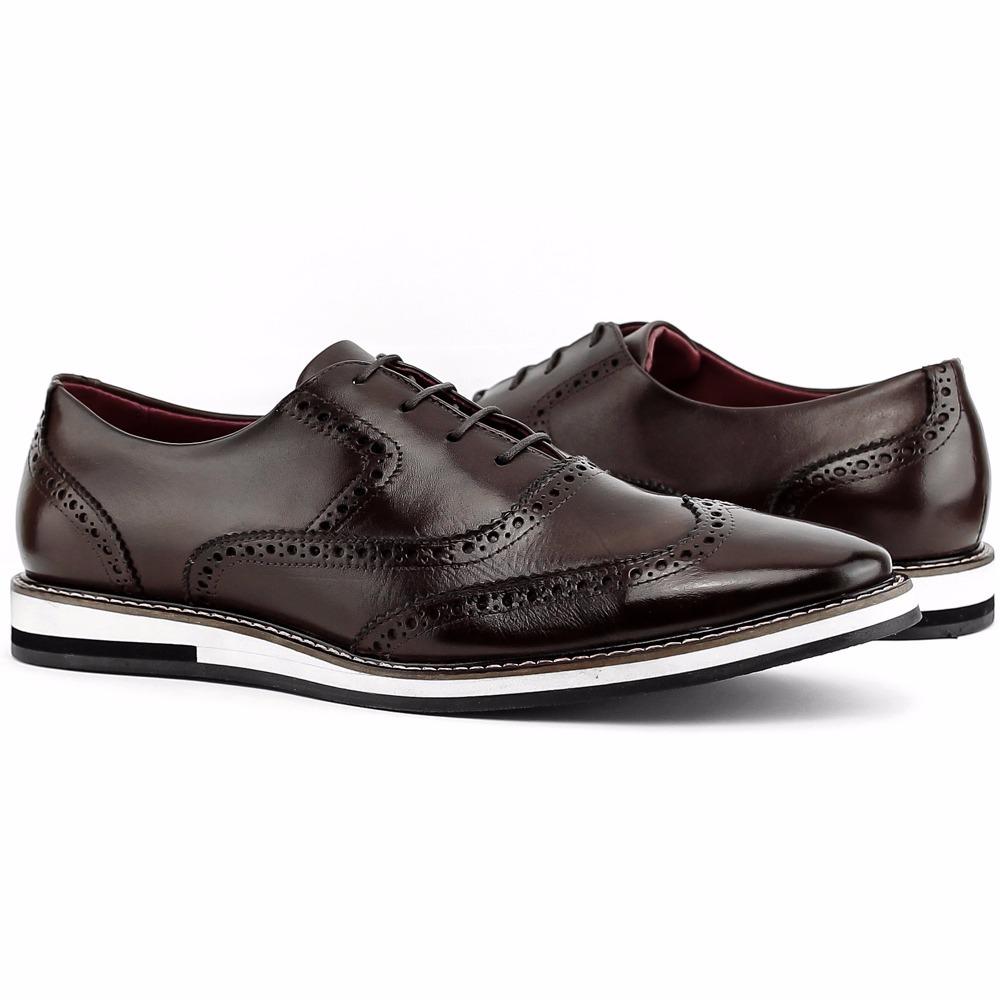 eb0496a6d8 sapato oxford casual masculino couro legitimo mega oferta. Carregando zoom.