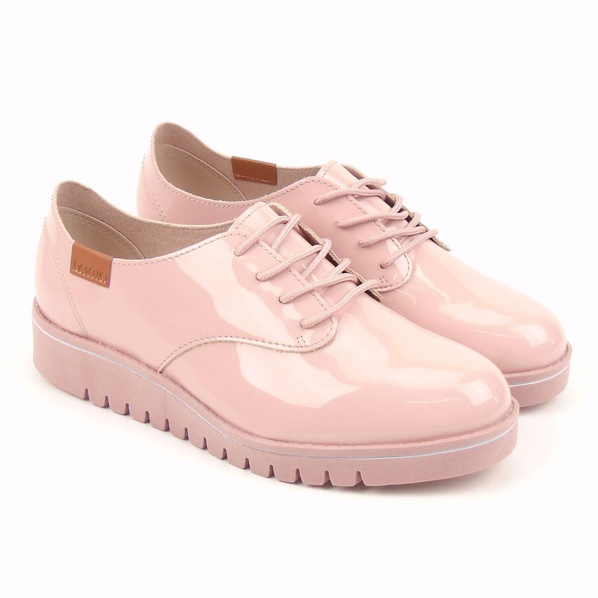 563316ea3 sapato oxford feminino 4174.101 rosa beira rio flatform. Carregando zoom.