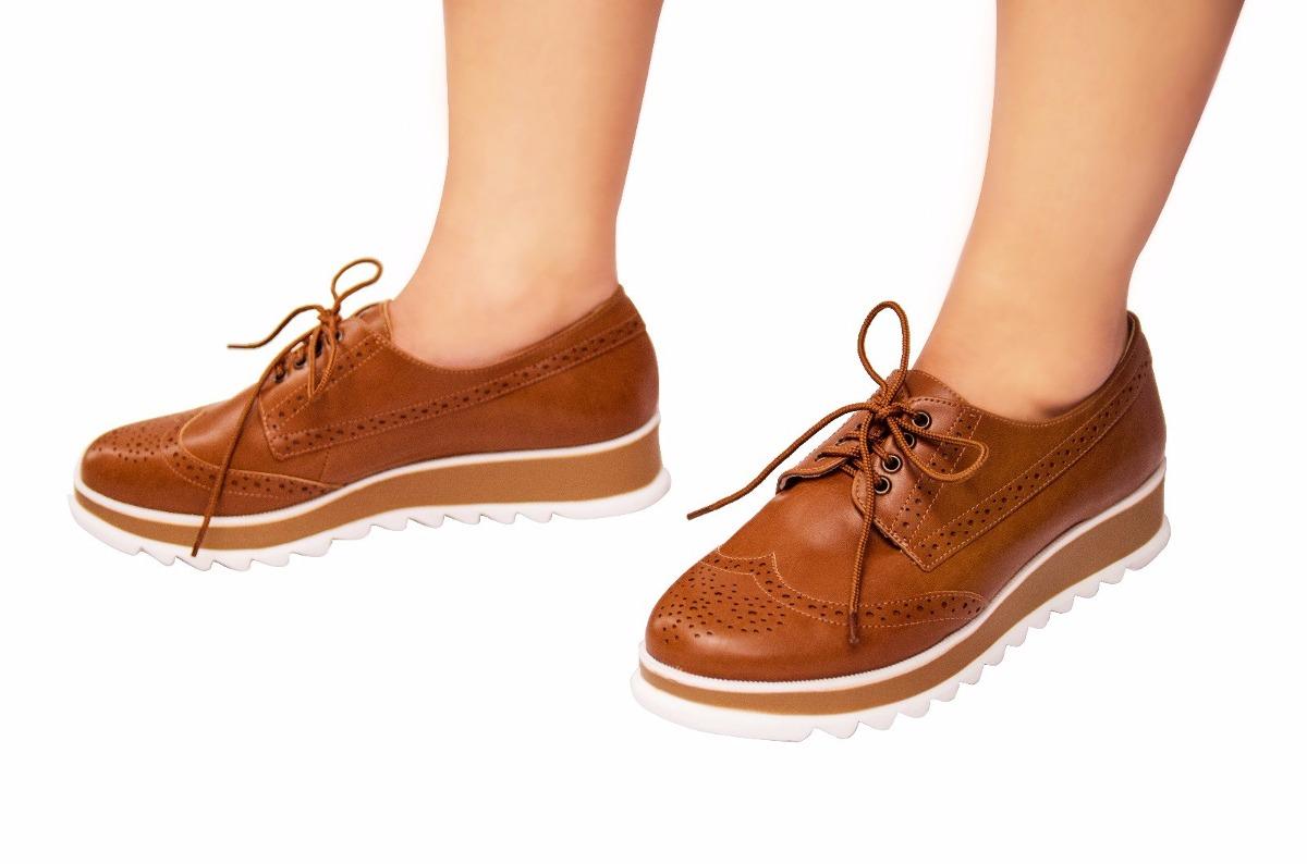 34787fe205 sapato oxford feminino sola tratorada marrom ref 1103. Carregando zoom... sapato  oxford feminino. Carregando zoom.