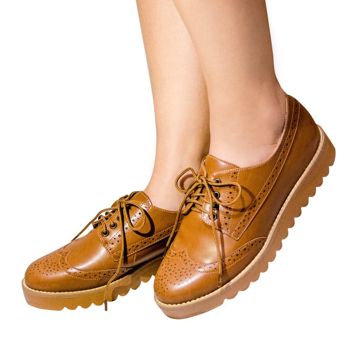 11bb909f9c Carregando zoom... oxford feminino sapato. Carregando zoom... sapato oxford  feminino sola tratorada marrom ref 1103