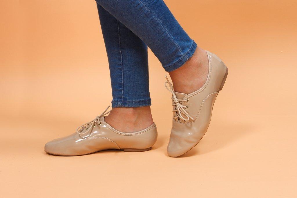 0a6ba9f58 Sapato Oxford Feminino Bico Redondo Promoção - R$ 79,90 em Mercado Livre