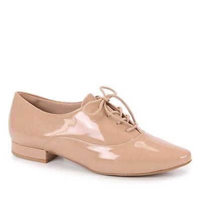 d296a3a431 Sapato Oxford Feminino Lara - Nude - R  129