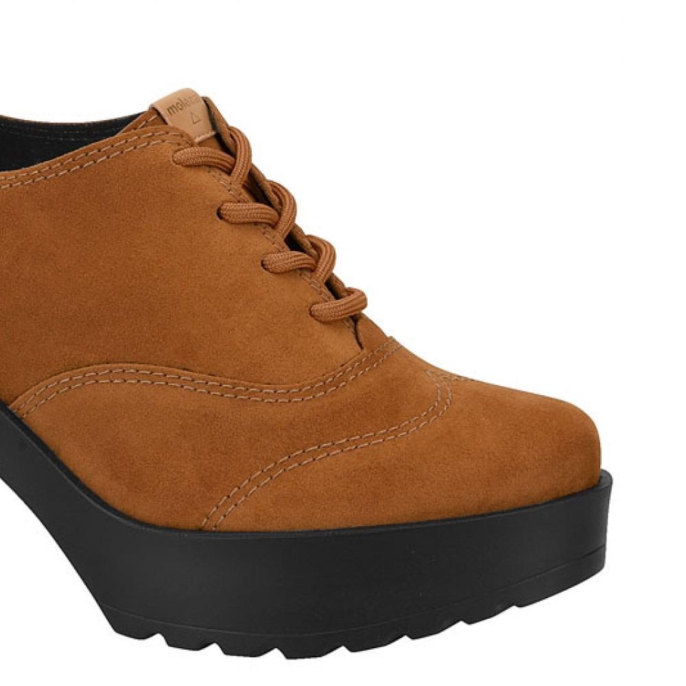 e3d50ebb3 Sapato Oxford Feminino Caramelo Moleca - R  189