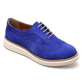 b0df823c34 Sapato Azul Claro Feminino Oxfords - Calçados, Roupas e Bolsas com o  Melhores Preços no Mercado Livre Brasil