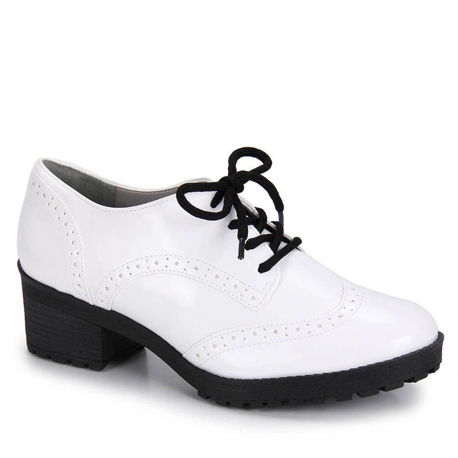 8114da6c86 sapato oxford feminino via marte - branco. Carregando zoom.