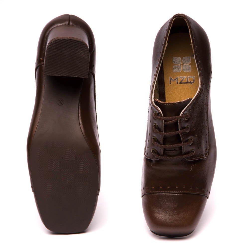 01cc44977f sapato oxford marrom feminino - chocolate   taupe 7305. Carregando zoom.