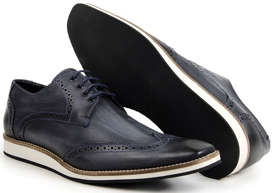 83b5687f58a sapato oxford masculino em couro estilo sapatenis casual. Carregando zoom.