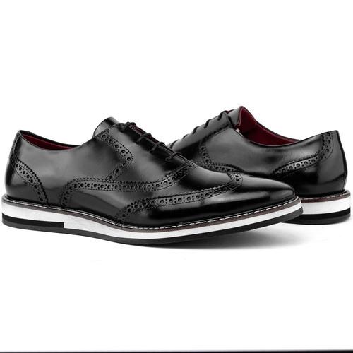 3db638690 Sapato Oxford Preço De Atacado Social Em Couro + Brinde - R$ 169,40 ...