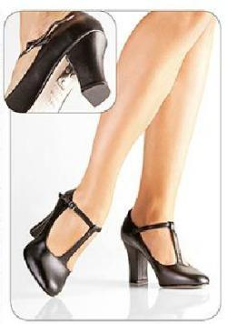 0fcaa78739 Sapato Para Dança De Salão Só Dança Preto - Ch110 - R  149