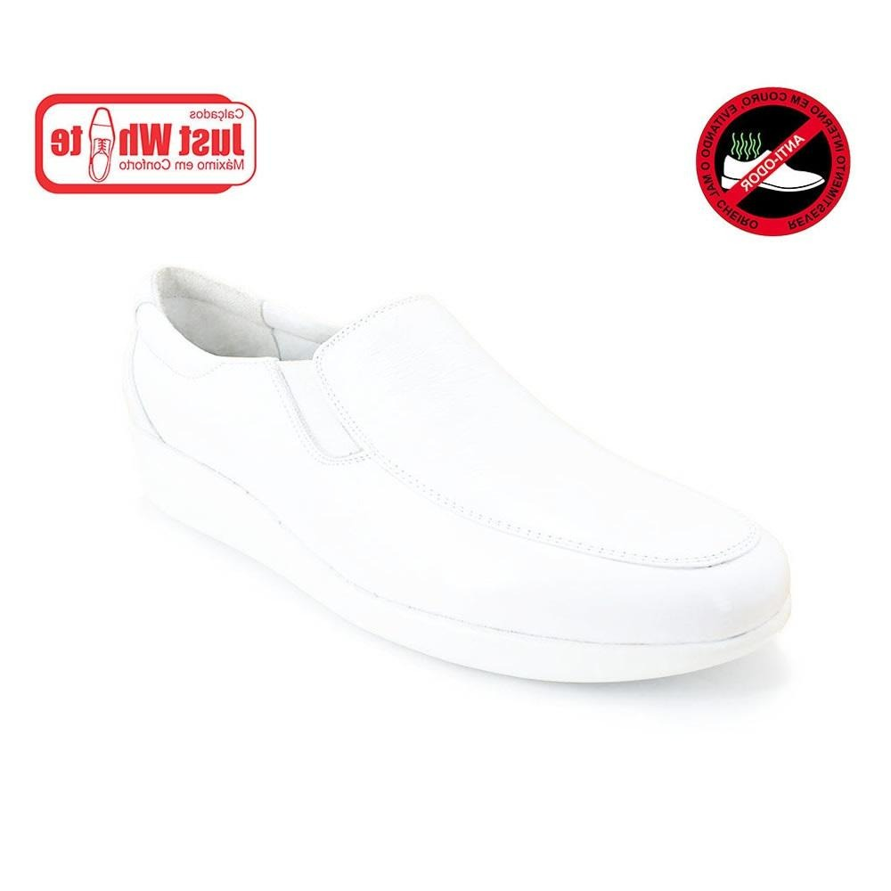 518c8cf437 Sapato para médica dentista feminino couro just write branco carregando zoom  jpg 1000x1000 Feminino médicos sapato