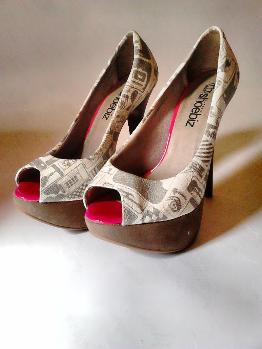 03d640d85 sapato peep toe diferente colorido 33 salto alto 12 cms. Carregando zoom.