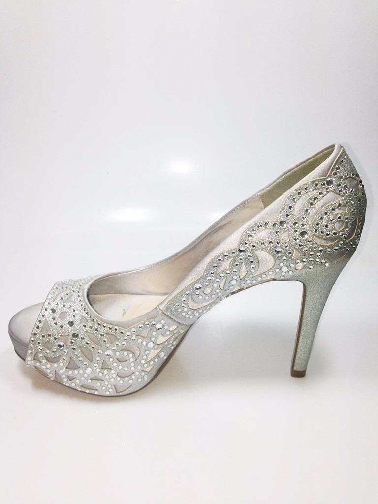 302621b50 sapato peep toe festa noivas debutantes prata (86223). Carregando zoom.