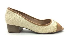 c2e004a7b Scarpin Salto Baixo Ramarim - Sapatos com o Melhores Preços no Mercado  Livre Brasil