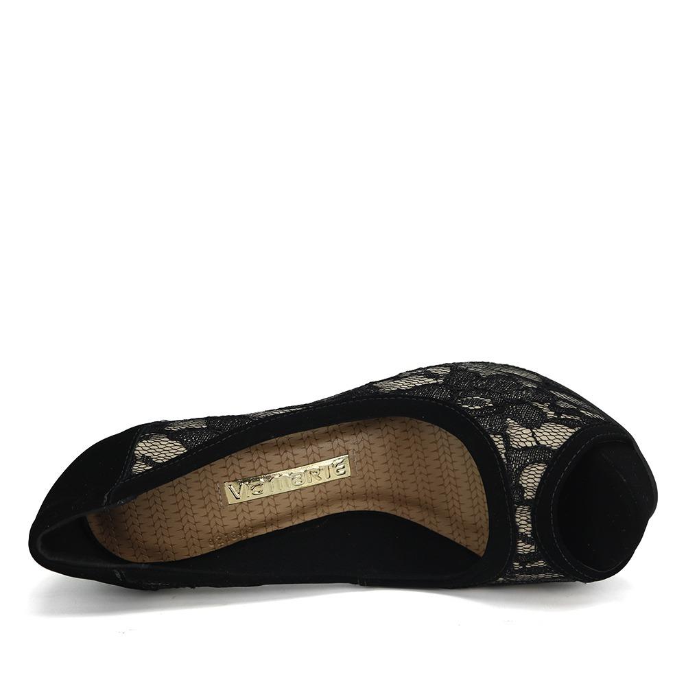 6a9197c33 promoção sapato peep toe via marte 18-1156 dourado/preto. Carregando  zoom... sapato peep toe via marte. Carregando zoom.