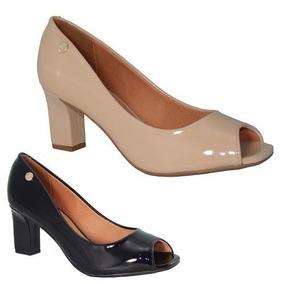 9cc387fb24 Peep Toe Branco Vizzano - Sapatos no Mercado Livre Brasil
