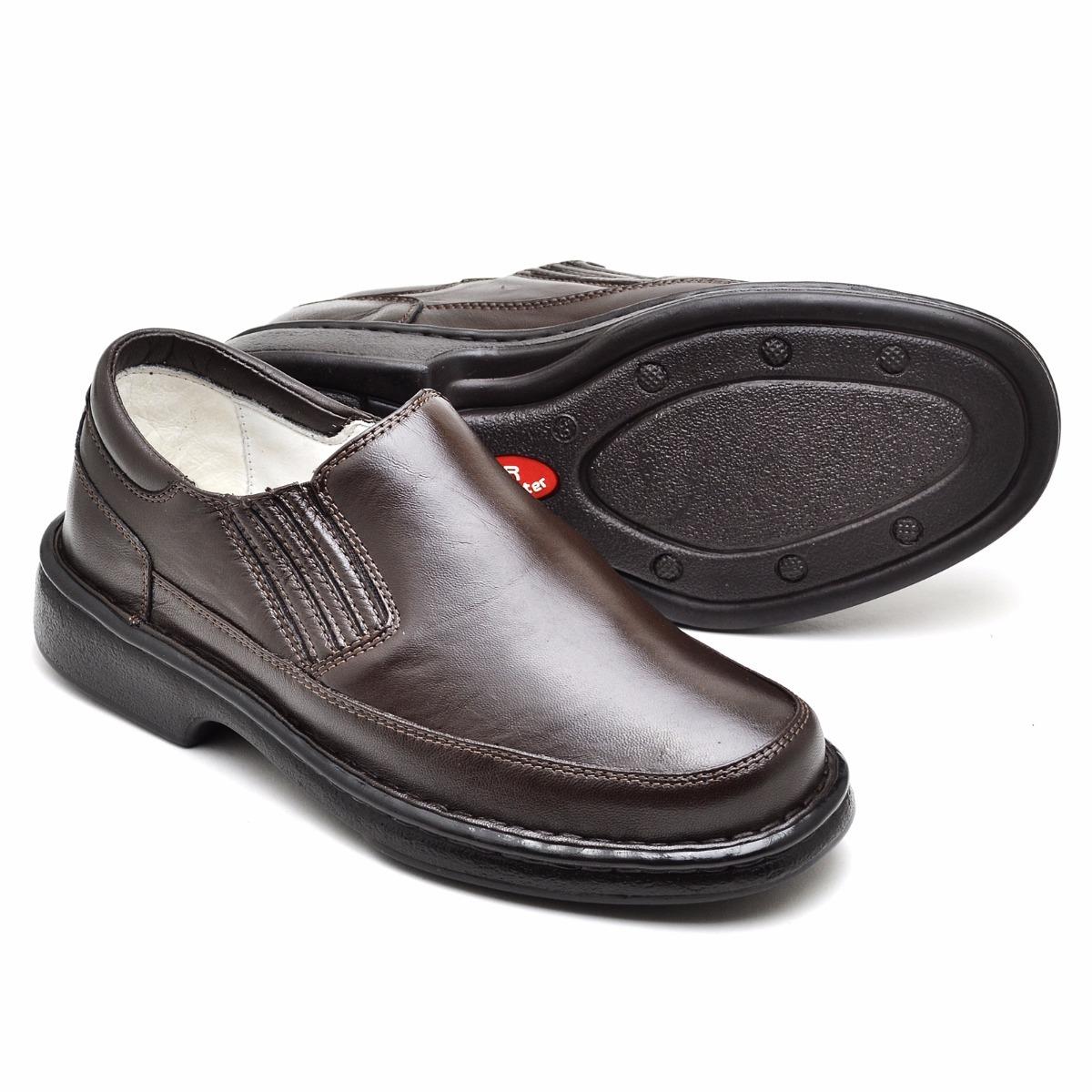 1c294a4ab Sapato Pelica Antstress Para Pés Sinsiveis Diabético 2001 - R$ 169 ...