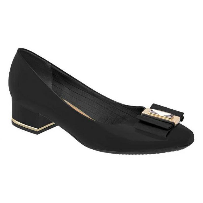 8f6a51f496 Sapato Piccadilly 681002 - Preto - Delabela Calçados - R$ 165,44 em ...