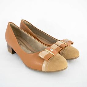 e5c647319e Sapato Picadilly Tricê Cor Caramelo Outros Modelos - Sapatos no ...