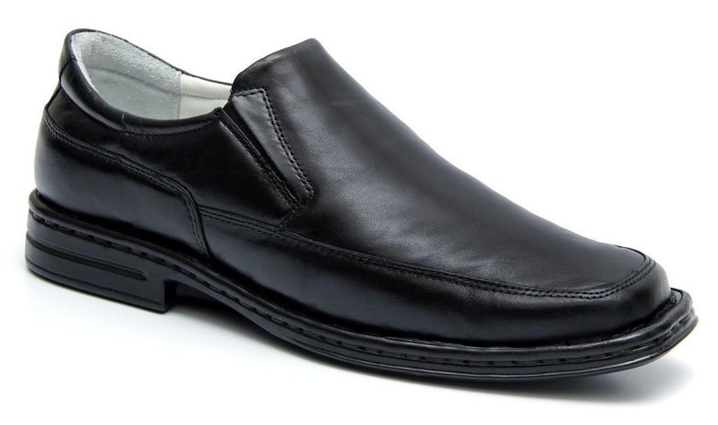 4e27da00af sapato preto masculino confortável palmilha com amortecedor. Carregando  zoom.