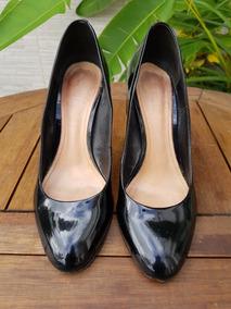 57a41d49d Schutz Sapato Preto Verniz Preto- - Sapatos com o Melhores Preços no  Mercado Livre Brasil