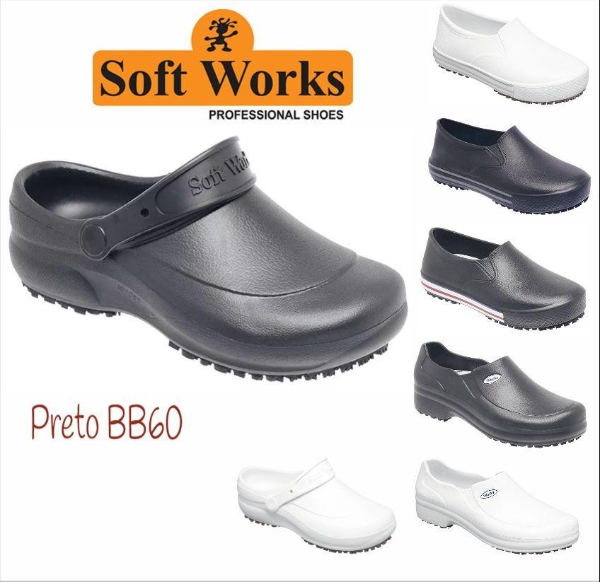 c50fc4590a sapato profissional babuch antiderrapante soft works . Carregando zoom.