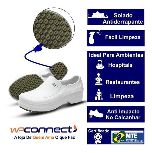sapato profissional soft works-enfermagem
