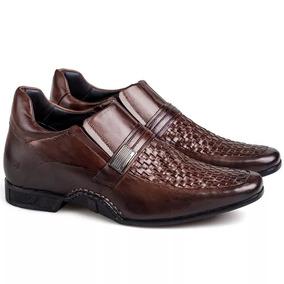 d9d728ec37 Sapato Masculino Aumenta 7 Cm - Sapatos com o Melhores Preços no Mercado  Livre Brasil