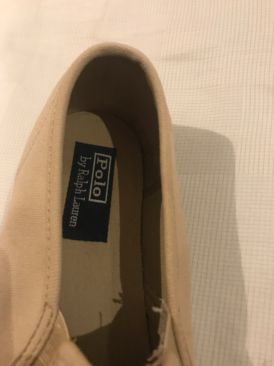 Sapato Tenis Polo Ralph Lauren - Original - R  140 aed1a134feb